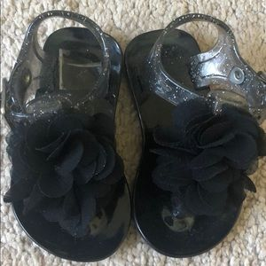Other - Black Jelly sandals